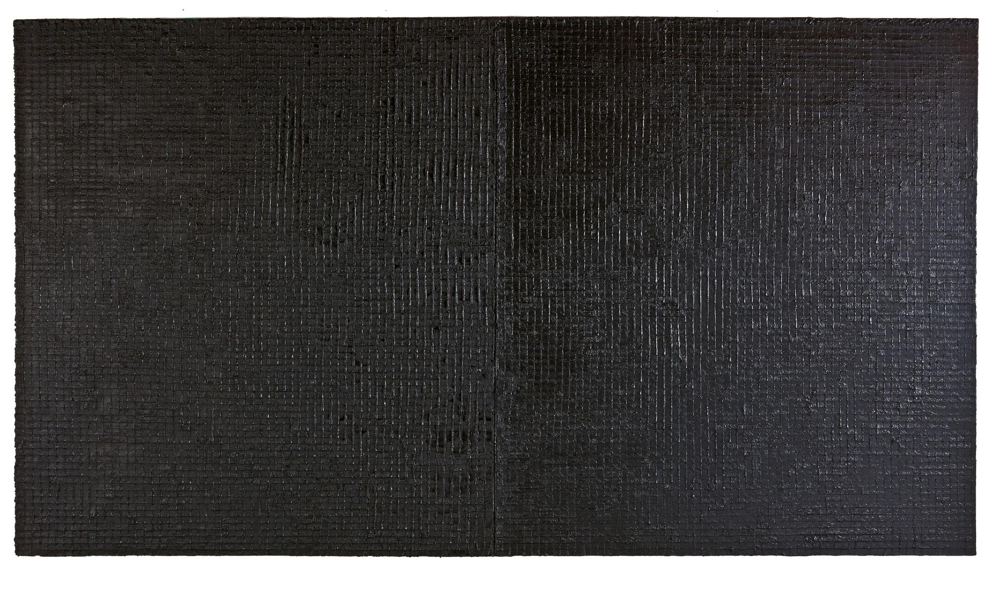 Rolf Rose, 190 x 360 cm, Öl auf Leinwand, Diptychon