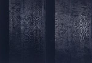 Rolf Rose, 220 x 240 cm, Acryl auf Leinwand, Diptychon