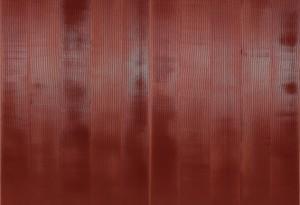 Rolf Rose, 220 x 260 cm, Acryl auf Leinwand, Diptychon
