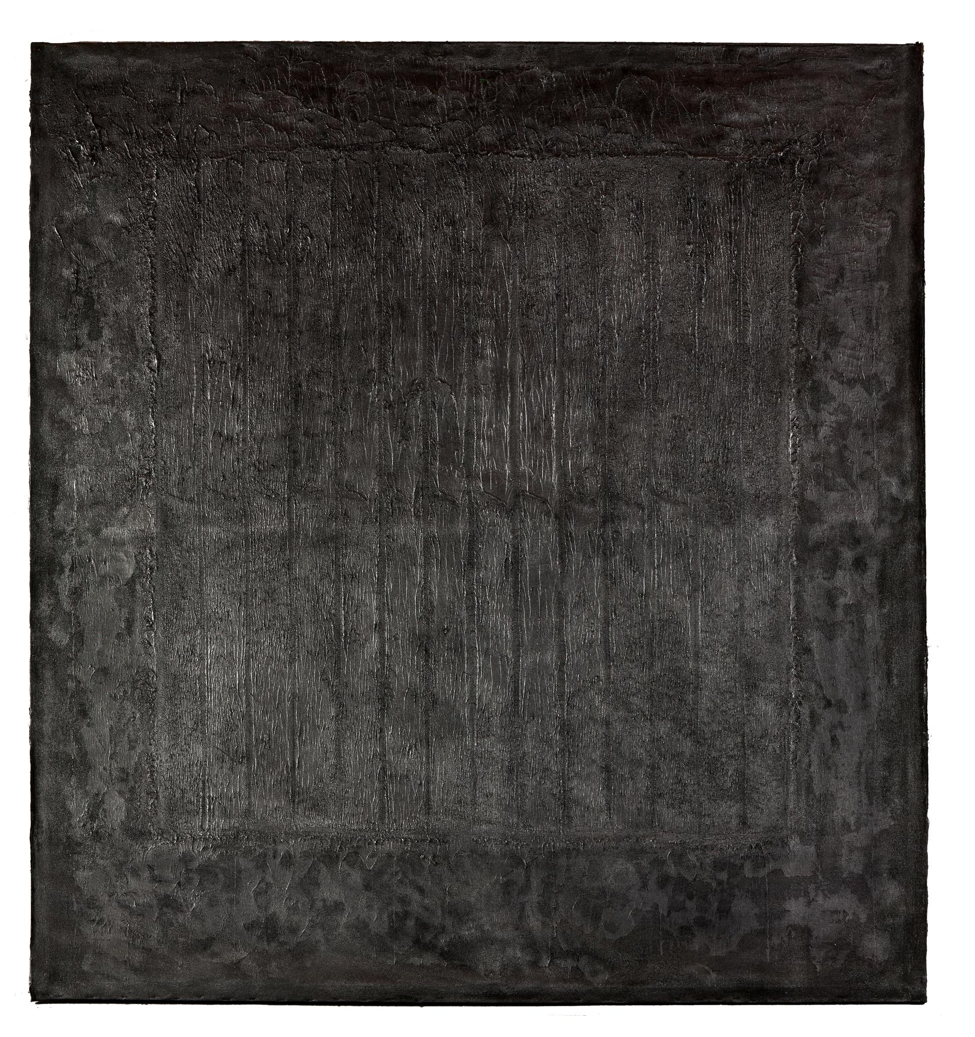 Rolf Rose, 213 x 199 cm, Öl und Graphit auf Leinwand