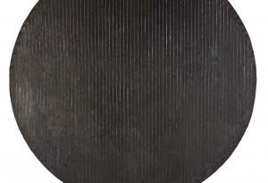 Rolf Rose, 166 cm Durchmesser, Öl auf Sperrholz