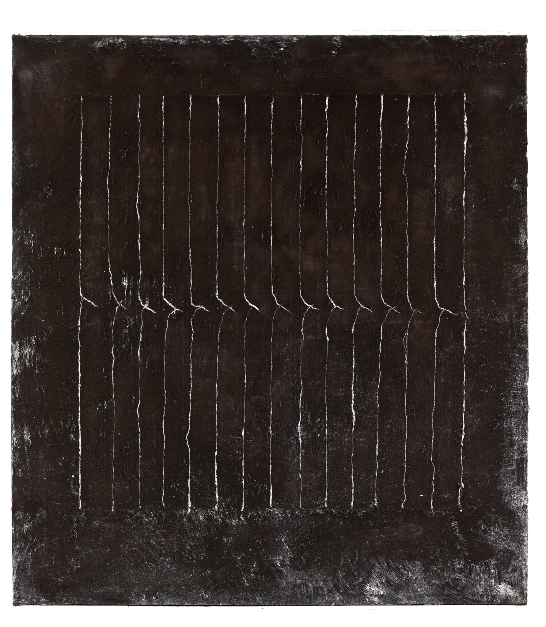 Rolf Rose, 210 x 190 cm, Öl und Graphit auf Leinwand