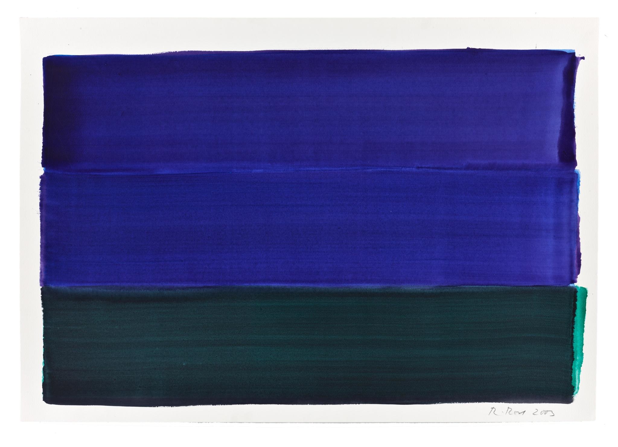 Rolf Rose, 70 x 100 cm, Aquacryl auf Aquarellpapier