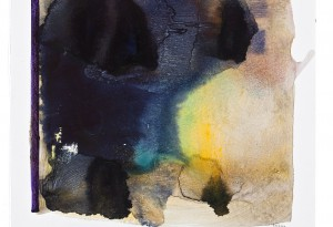 Rolf Rose, 50 x 60 cm, Aquarell auf Glasfaservlies
